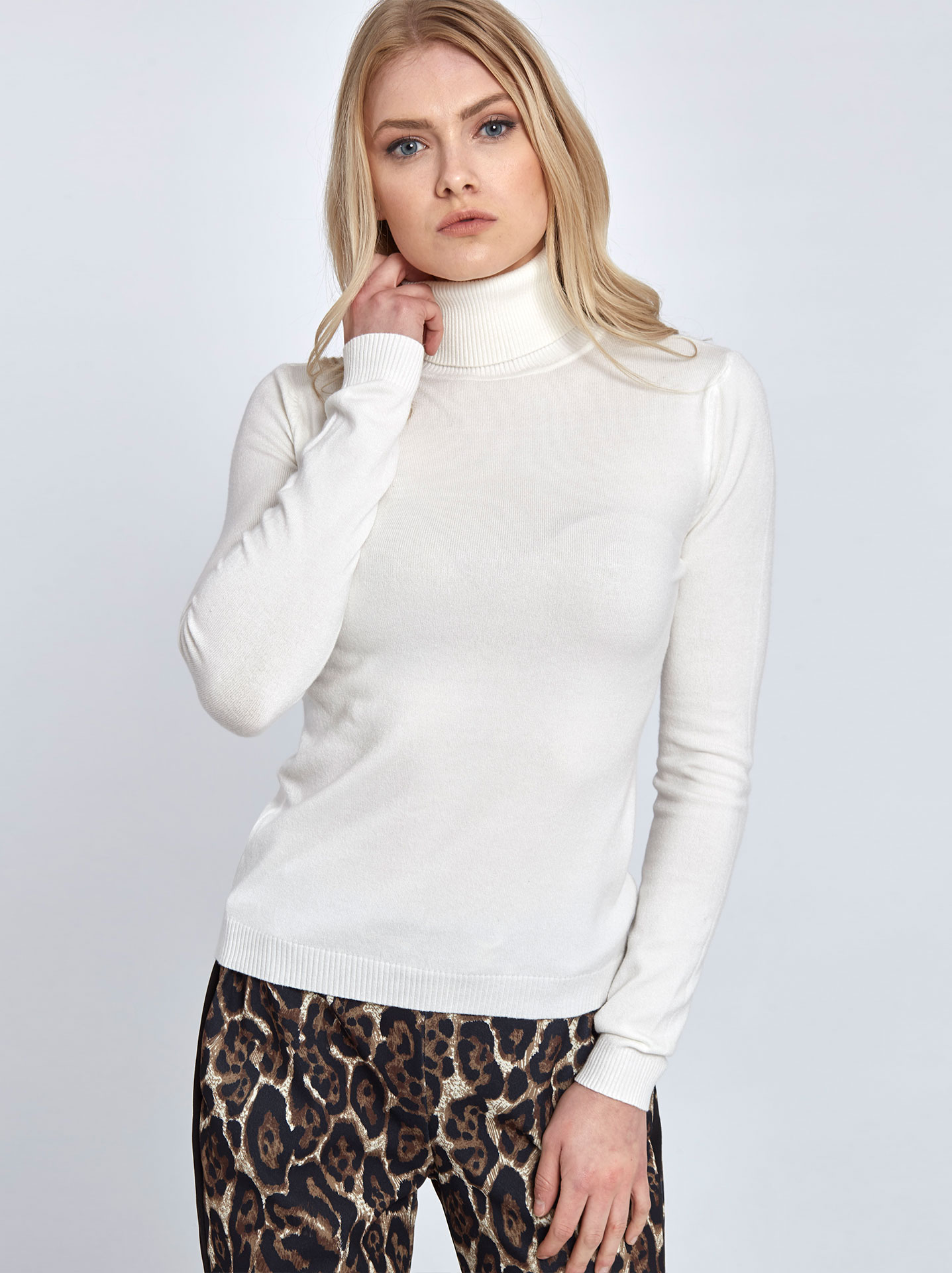 12ee5f220c73 Ζιβάγκο πουλόβερ σε λευκο