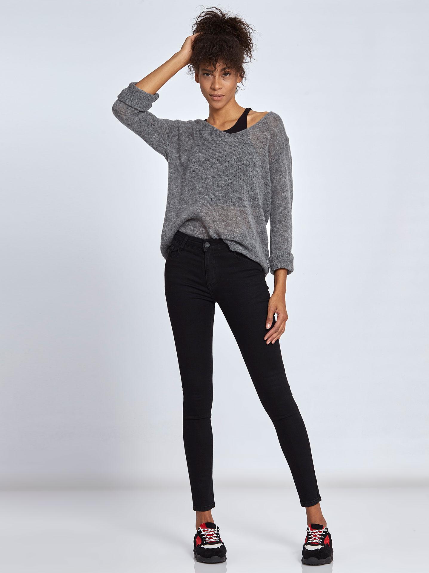 da965331a97 Γυναικεία Ρούχα Παντελόνια Skinny τζιν παντελόνι WL196.1010+1
