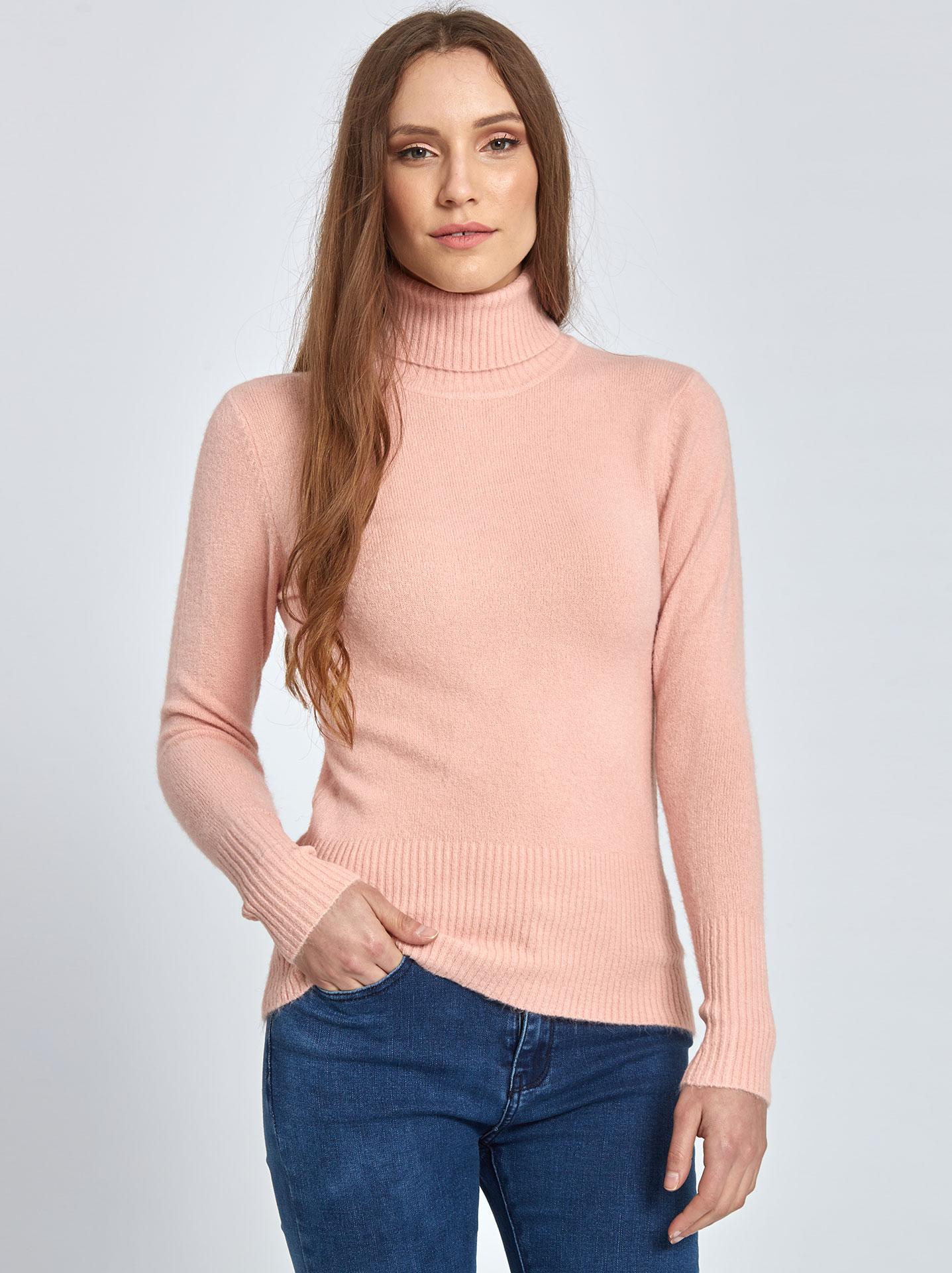 bc6218b6b5e9 Ζιβάγκο πουλόβερ σε ροζ
