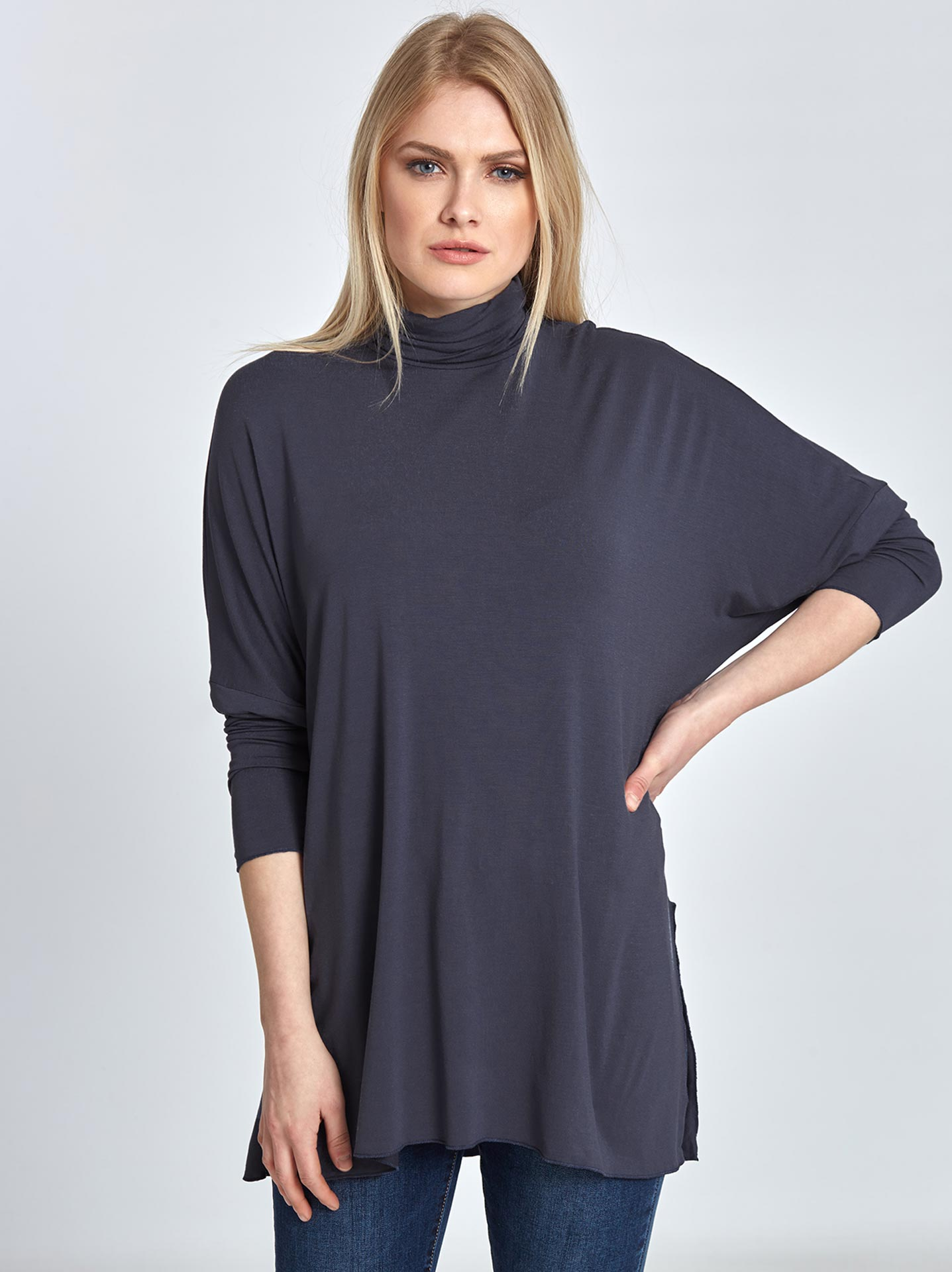 222a6d1d953a Ζιβάγκο μπλούζα σε μπλε ραφ