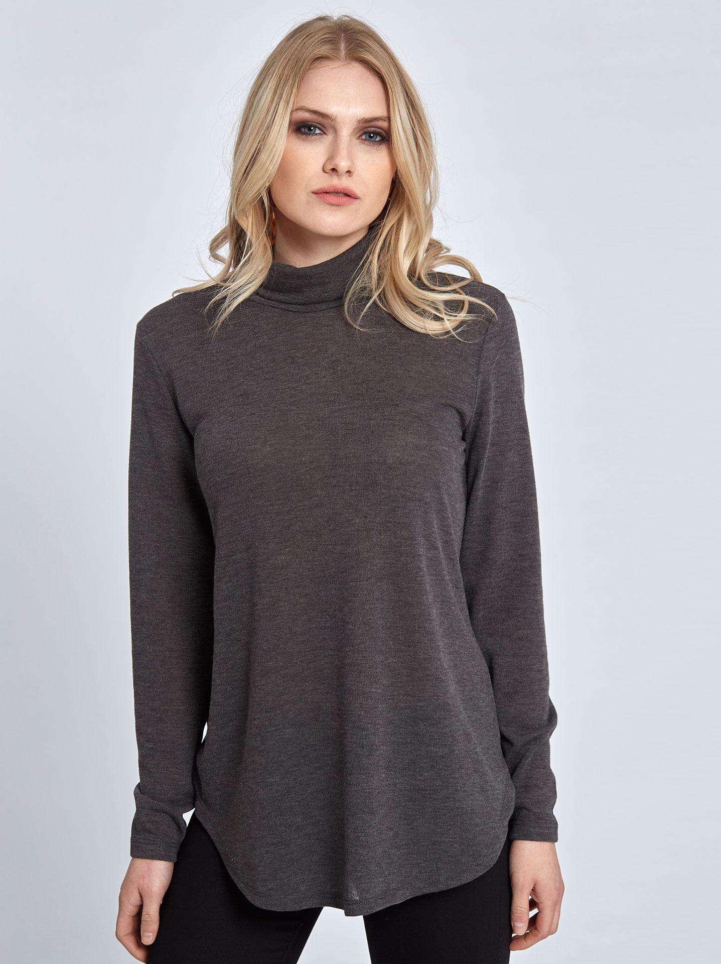 8be66809721d Γυναικεία Ρούχα Μπλούζες Πλεκτή ζιβάγκο μπλούζα WL4874.4001+1