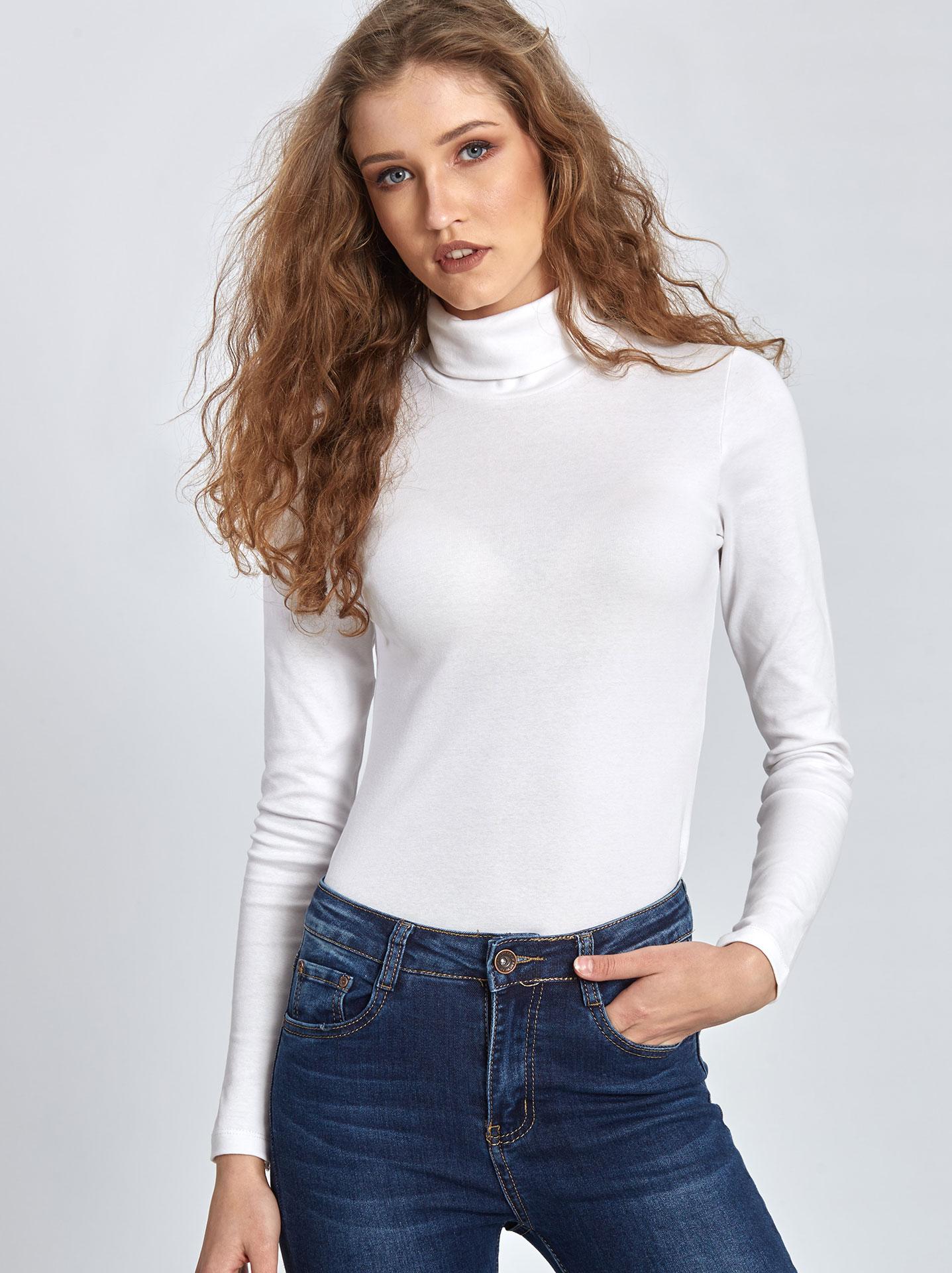 c4a9609fb32c Ζιβάγκο μπλούζα σε λευκο