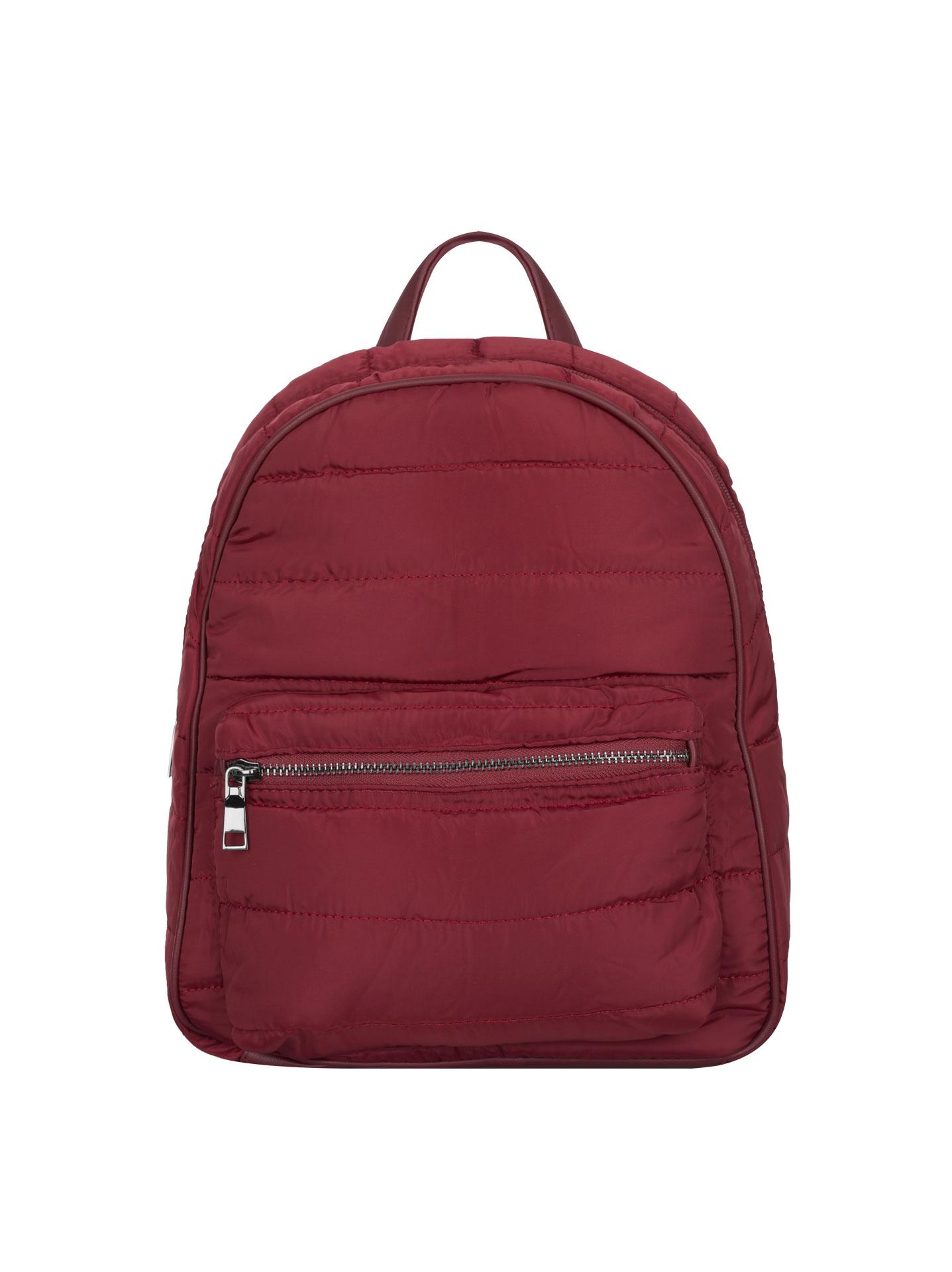 Quilted waterproof backpack wine red ca53bdb0471b2